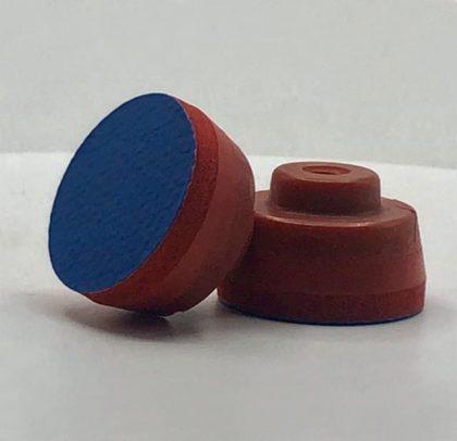 Suporte para os abrasivos de Ø 35 ou 32mm Rosca Fêmea 1/4 – PSA Azul