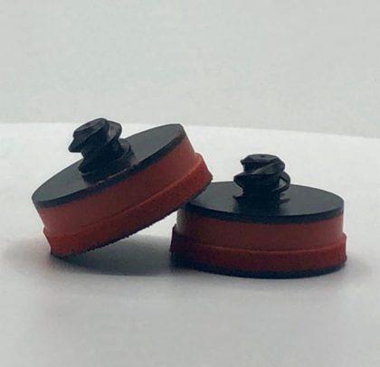 Suporte para os abrasivos de Ø 32 ou 35mm – Rosca Rápida – Micro Velcro