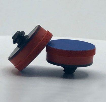 Suporte para os abrasivos de Ø 32 ou 35mm – Rosca Rápida – PSA Azul