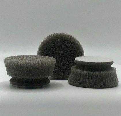 Kit com 3 Boinas de Polimento de Alta Remoção – Corte – Cinza/Cinza 23 mm Ø45 mm